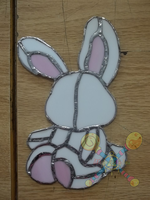 Stained Glass Bunny by ManaShadow369