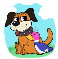 Duck hunt duo by MaskedPsychopath