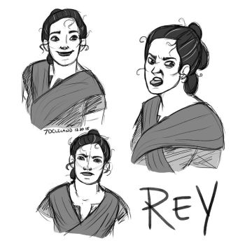 Rey Expressions by autumncoloredmelodie