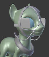 WIP - Horse carriage harness by Moonight118