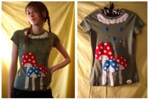 Mushroom Shirt by deconstructedstars