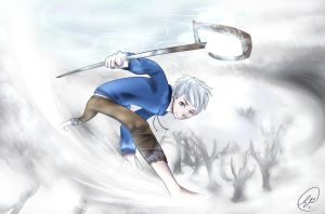 RotG: Jack Frost by ChibiGuardianAngel