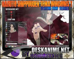 Itachi Edo Tensei Theme Windows 7 by Danrockster