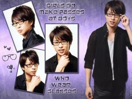 Boys Who Wear Glasses... by midori711c