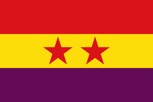United States of Spain Flag by Wyyt