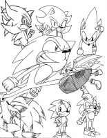 All-Star Sonics by ThePatronium20