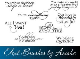 8 Text Brushes by ani-02