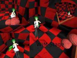 MMD WIM Stage finished by Tdrawer3130