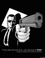 2003 Agent Smith by GabeLamberty