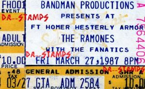 The Ramones Concert 3-27-87 by dA--bogeyman