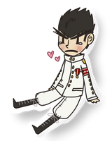 ishimaru sticker thing by cyaf