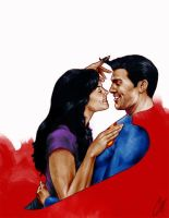 Lois and Clark by gattadonna