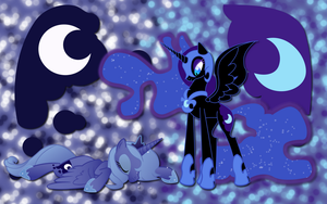 NMM and Luna WP by AliceHumanSacrifice0