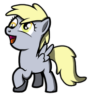 Derpy want a muffin? by Bigshot232