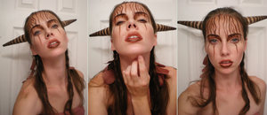 Nature: Horns and Makeup by starbuxx