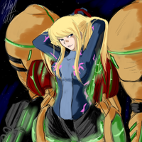 Metroid M: Samus Aran by PeterPrime