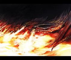 fire dragons by sakaya0313