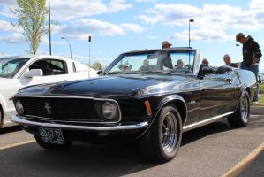 Mustang's Top Down by KyleAndTheClassics