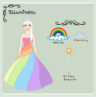 Ref SMB - Princess Illuminesa by StargazerSammie