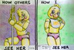 Toy Chica by SammfeatBlueheart