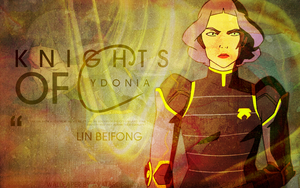 Legend of Korra Wallpaper: Lin Beifong by tea-junkyard