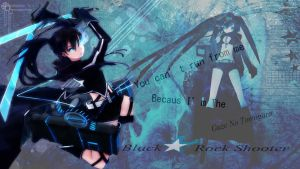 Black Rock Shooter by GuzeNoTomogara
