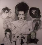 Universal Monsters by Dthecryptkeeper