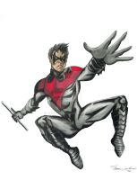 Nightwing New 52 Revised by cusT0M