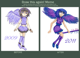 Before and After Meme by RainbowPoof