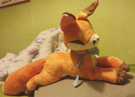 Red fox plushie by zukori