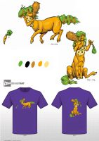 The Gracefull Centaur: T-shirt Challenge by Cervelet