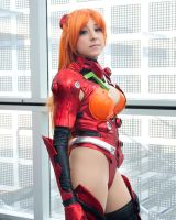Asuka in suit by EriTesPhoto