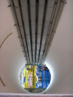 Particle Accelerator Air Shaft by landminecat