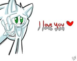 I Love you... by SolarSonic3546