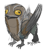 Potoo by BlindCoyote