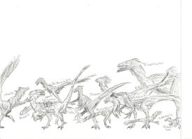 Miscellaneous Theropods by RajaHarimau98