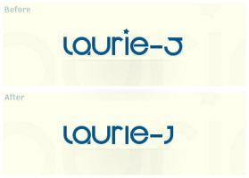 laurie-J - 2nd Logotype by Laurie-J