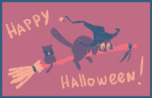 Happy Halloween by Nyamas