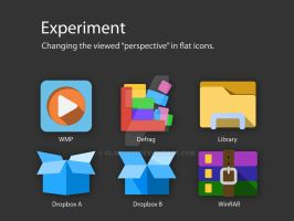 Perspective in Flat Icons by glange65