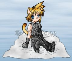 Kitty Cloud by Arian-Kage
