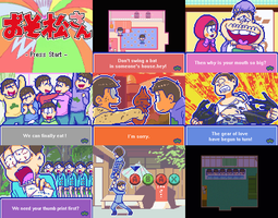 Osomatsu-san Game by jump2537