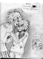 Bros forever by Nixiona
