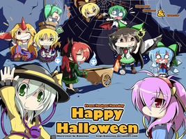 Touhou Tuesday - Halloween by Banzatou
