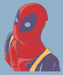 Deadpool - Palette 6 - Challenge by issabissabel
