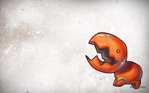 Trapinch Wallpaper by GlassPanda