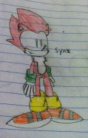 Synx the Hedge-Wolf by Forestarr