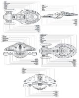 StarTrek Intrepid Class CS3 by xxxNitewingxxx