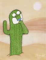 Shaving Cactus by 0lliebot