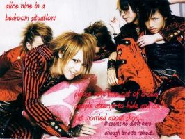 alice nine bedtime by UchihaMei-chan