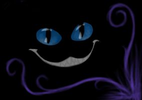 Smile of a Cheshire by jennypip